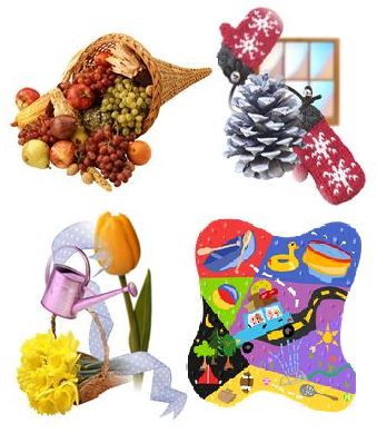 seasonal correspondence, seasons correspondence, winter correspondence, fall correspondence, spring correspondence, summer correspondence,