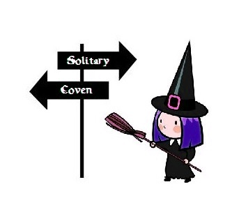 solitary, solitary practitioner, solitary witch, coven, covener, covenor, coven witch,