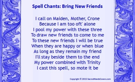 Bring New Friends   Sacred Hands Coven