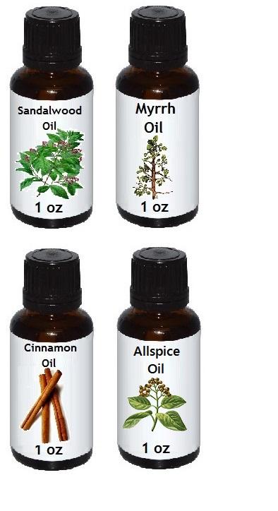 healing oil recipe