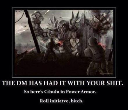 DM Cthulu Roll