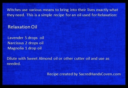 Relaxation Spell Oil